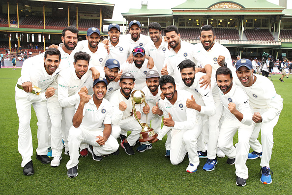 No other Indian side had tasted success down under before this one | Getty