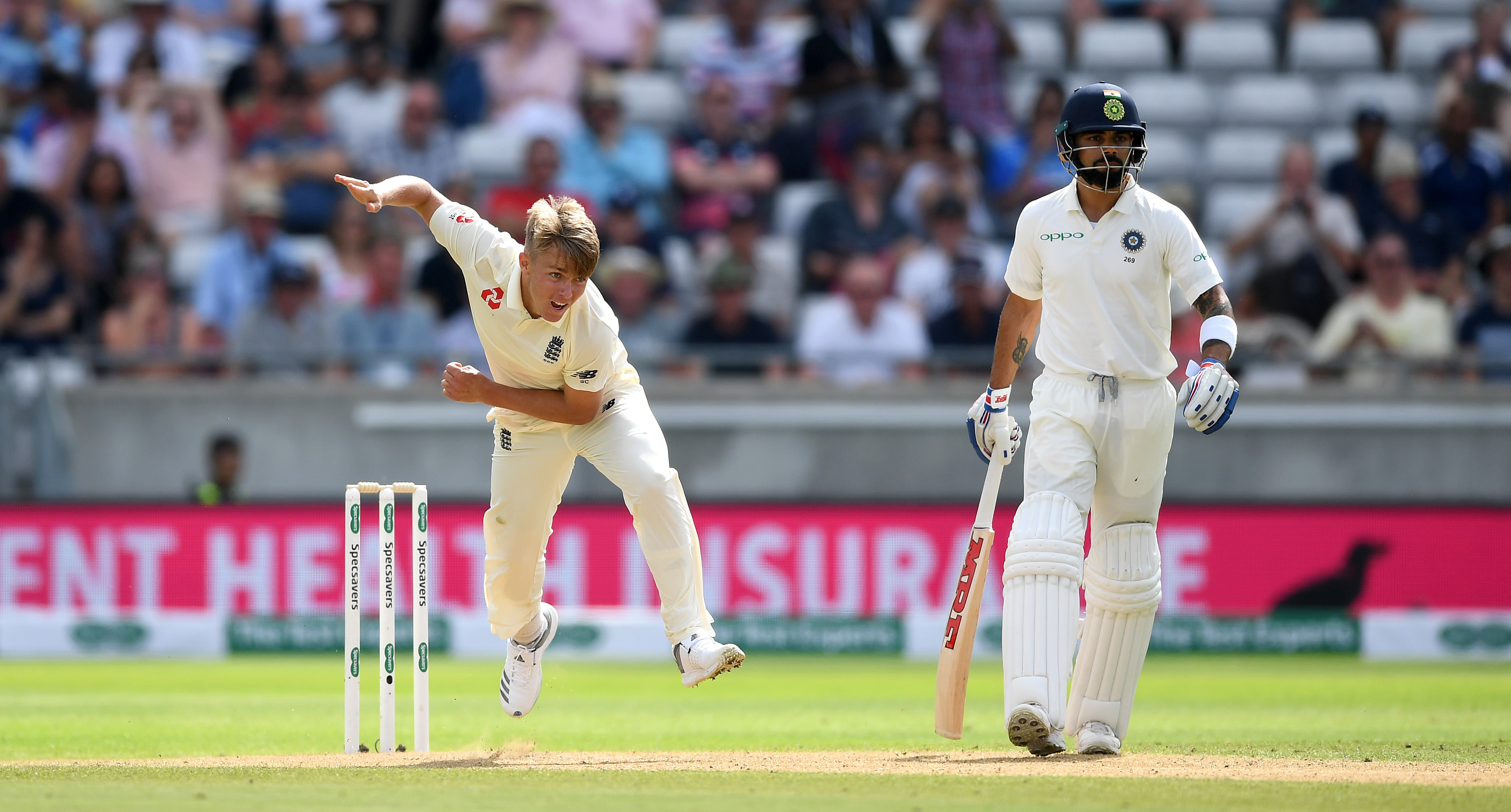 Curran reiterated the need for England to get Virat Kohli out as soon as possible on Day 4. (Getty)