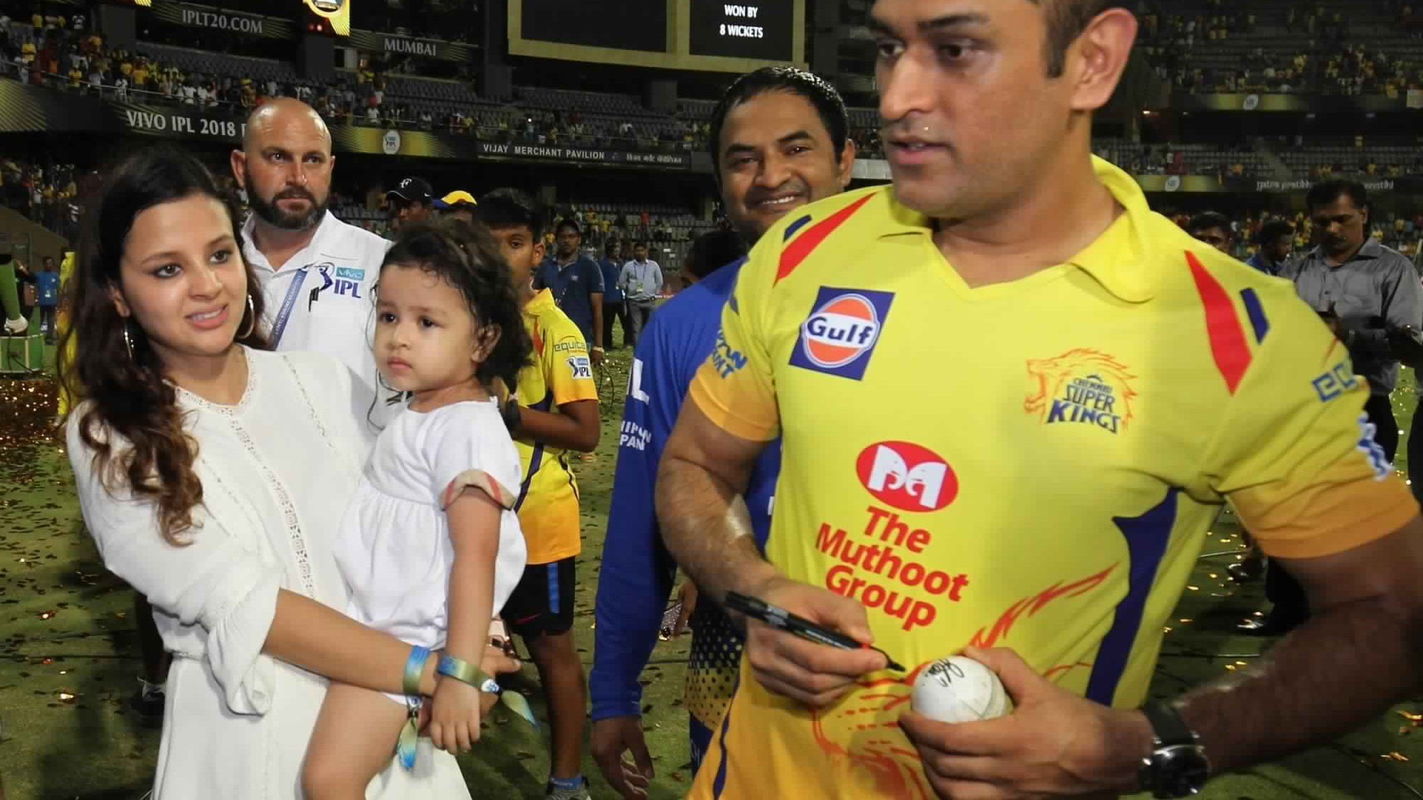 IPL 2020: MS Dhoni's daughter Ziva gets rape threats after CSK's loss; Twitterverse fumes