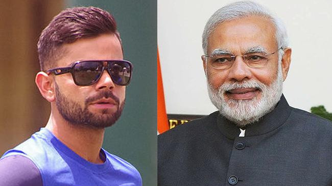 WATCH- Virat Kohli supports Indian government's initiative of shared mobility