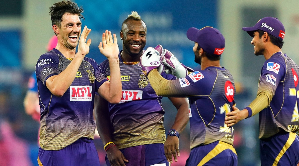 Pat Cummins and Andre Russell for KKR | BCCI-IPL