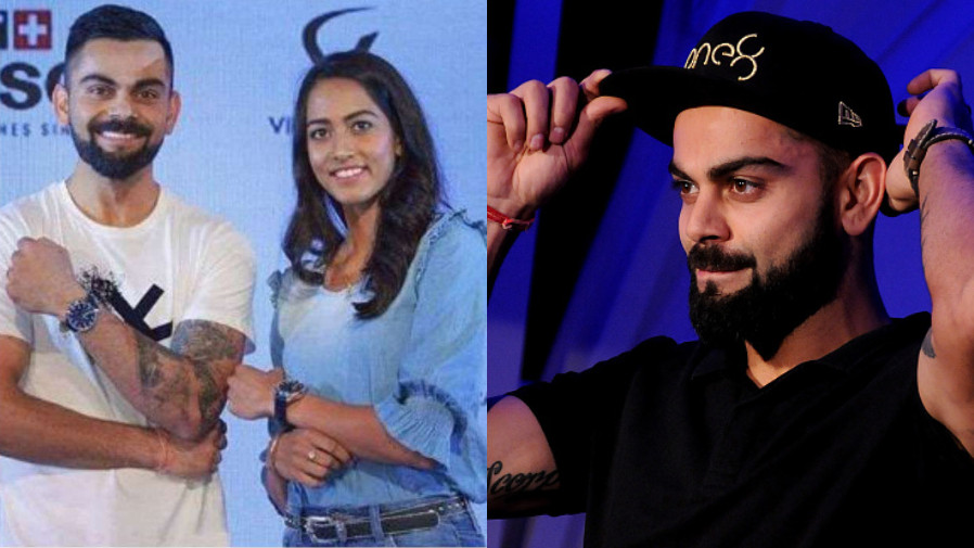 Feminists attack Virat Kohli after he stood on a platform to get clicked with a female athlete