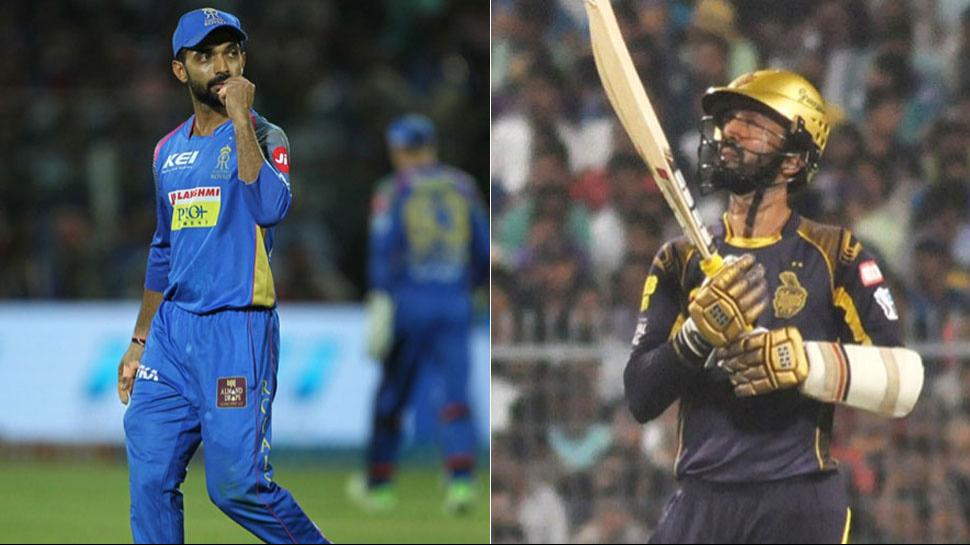 IPL 2018: KKR v RR- प्लेऑफस में जगह बनाने उतरेंगी राजस्थान और कोलकाता की टीमें