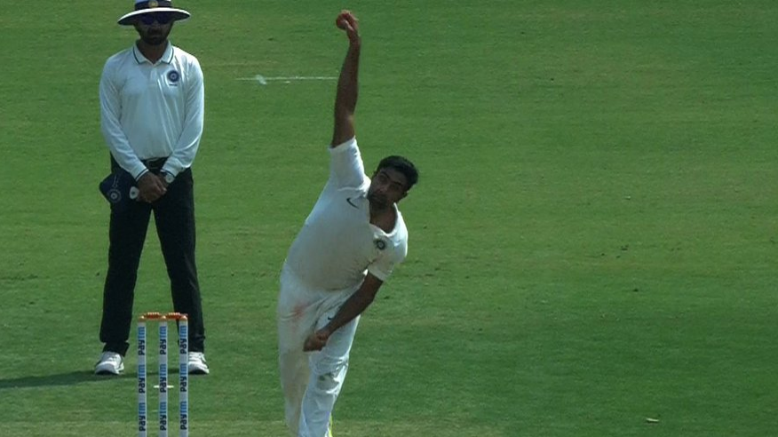 Watch: Ravichandran Ashwin's radical switch to a leg-spin bowler