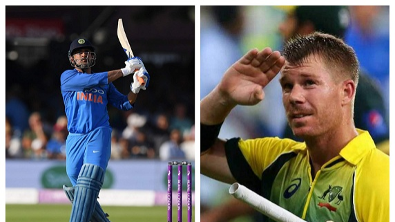 David Warner lauds MS Dhoni for entering 10,000 ODI runs club