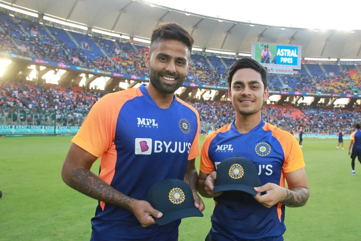 Suryakumar Yadav and Ishan Kishan might play in middle order for India | BCCI Twitter