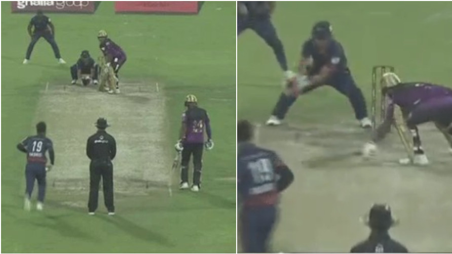 WATCH: Kamran Akmal misses Umar Akmal's stumping, Twitter user calls it 'Brotherly love'
