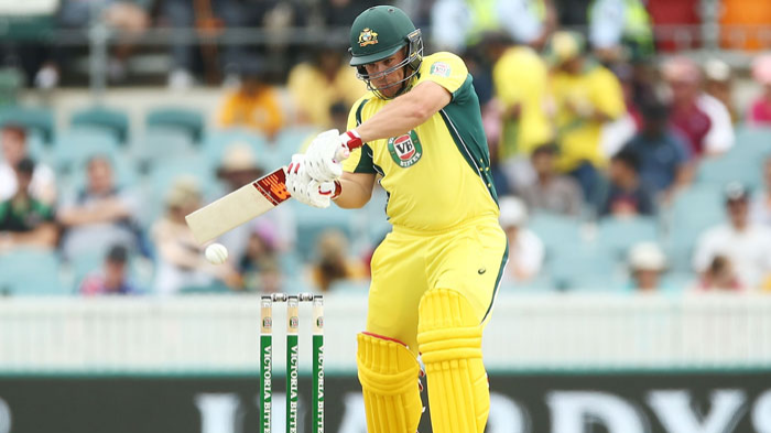 Have had success opening but will bat where it suits Australia, says Aaron Finch
