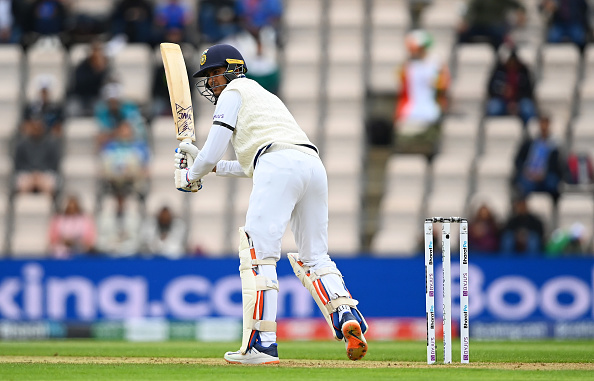 Shubman Gill needs to work on his footwork | Getty Images
