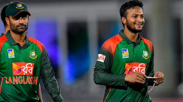 BAN v WI 2018-19: Tamim Iqbal, Shakib Al Hasan return to Bangladesh's ODI squad against Windies