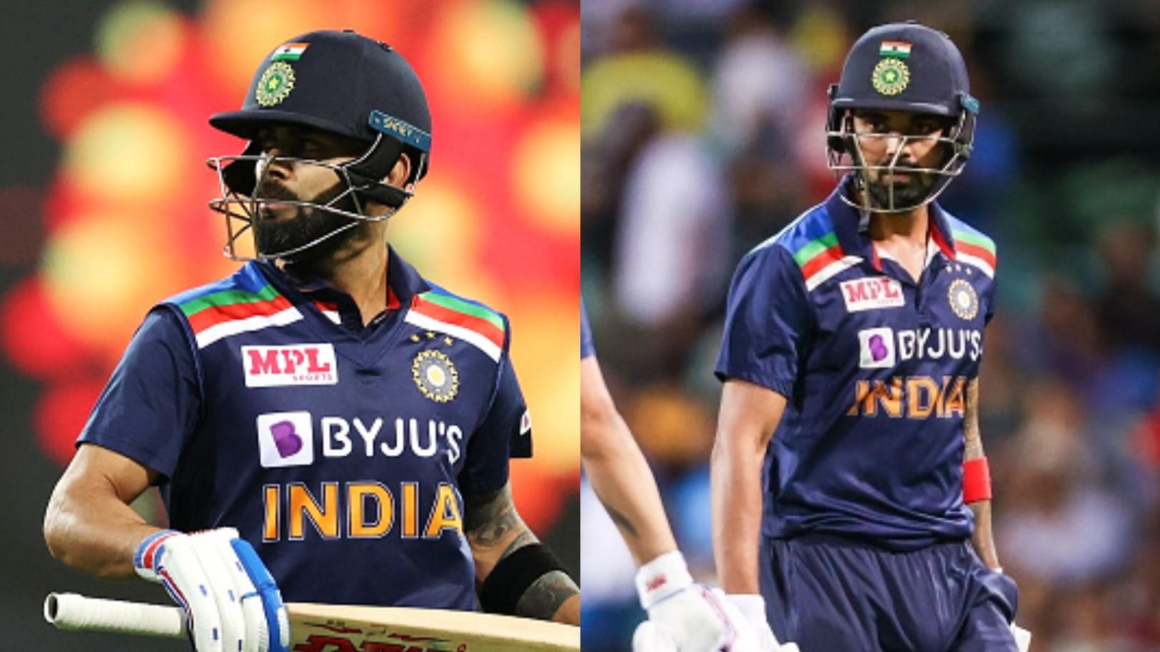 Virat Kohli moves to 7th spot in ICC T20I batting rankings; KL Rahul remains at no. 3 spot