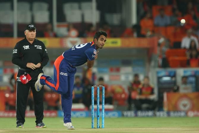 Jayant Yadav played for Delhi Daredevils in IPL
