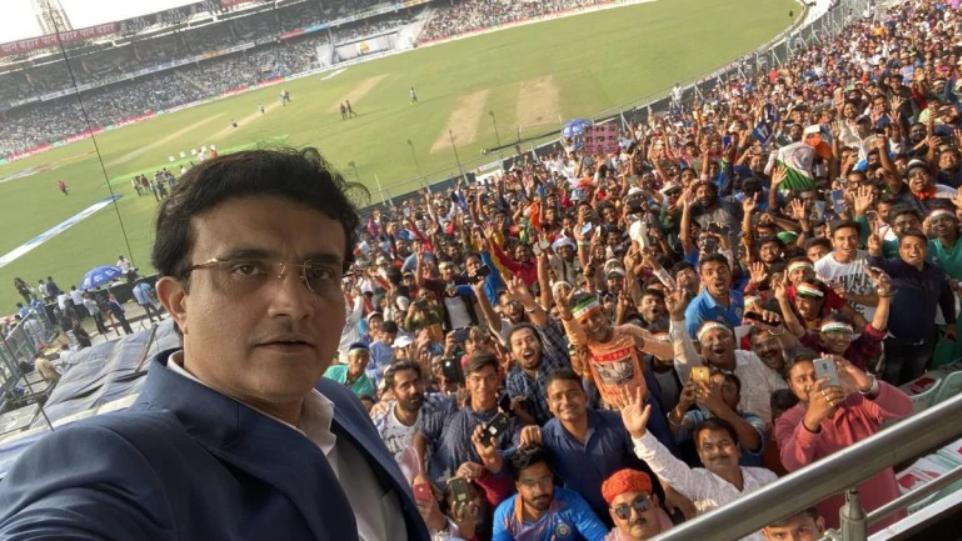 स्टेडियम का जायजा लेने अहमदाबाद पहुंचे सौरव गांगुली | IANS