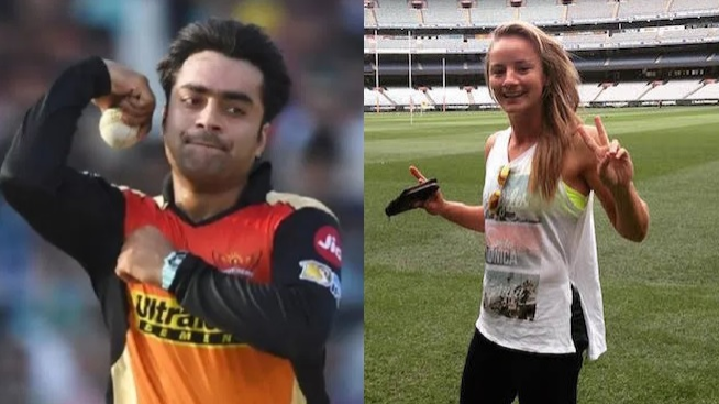 Danielle Wyatt amused by a fan's request that she should marry Rashid Khan