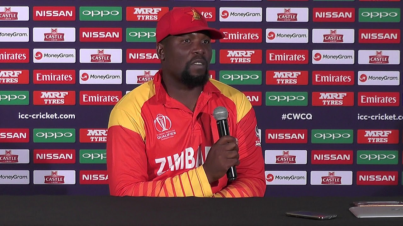 ZIM vs PAK 2018: Hamilton Masakadza talks after losing to Pakistan in the first T20