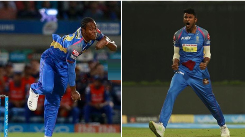 Krishnappa Gowtham gets a hilarious response on his post from Rajasthan Royals' teammate Jofra Archer