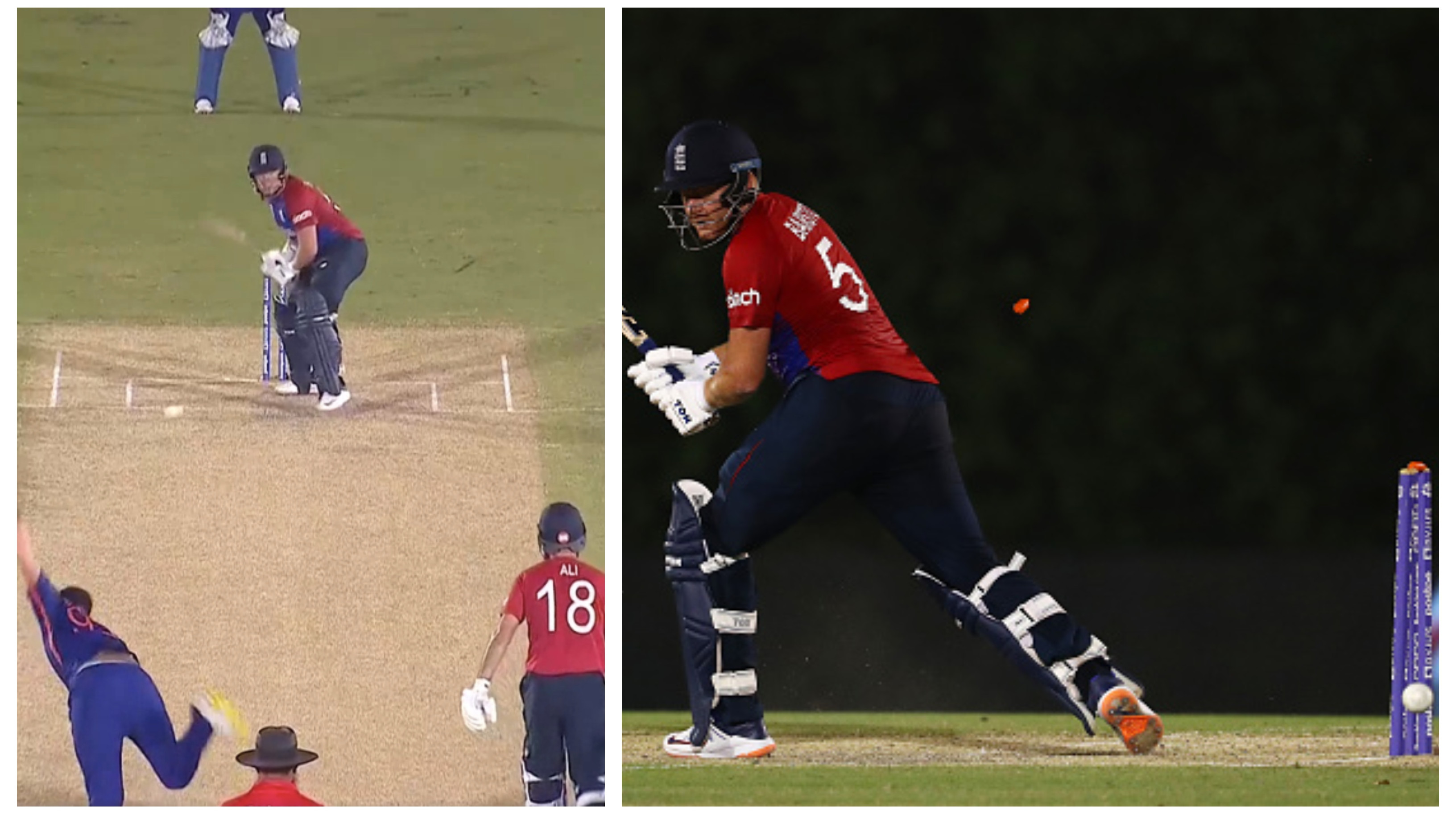 T20 World Cup 2021: WATCH - Bumrah's peach of a yorker to dismiss Bairstow in warm-up match