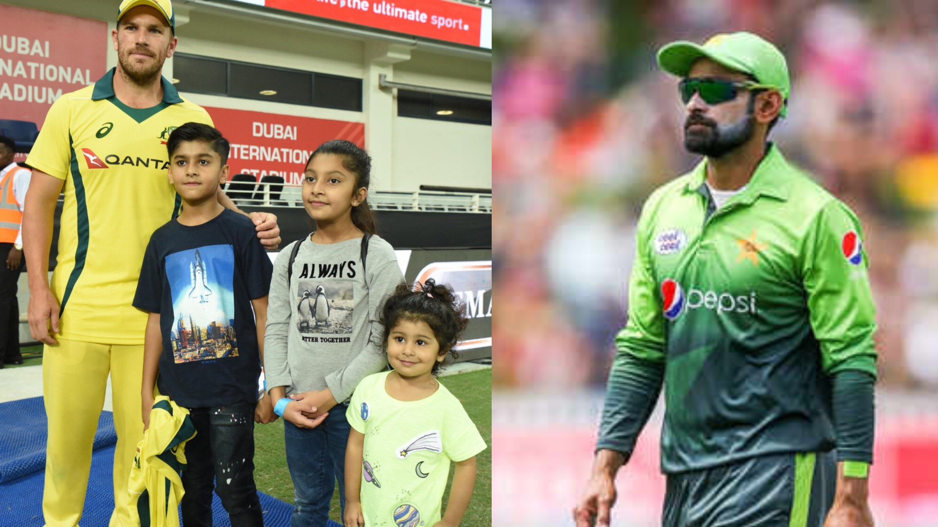 PAK v AUS 2018: Mohammad Hafeez thanks Aaron Finch for his wonderful gesture