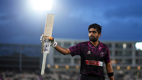 Babar Azam to rejoin Somerset for T20 Blast, available for team's last seven group matches