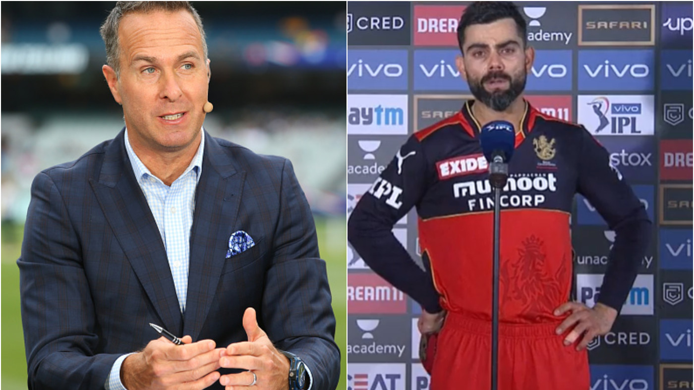 IPL 2021: Michael Vaughan picks an 'out of the box' name for RCB captaincy replacement of Virat Kohli