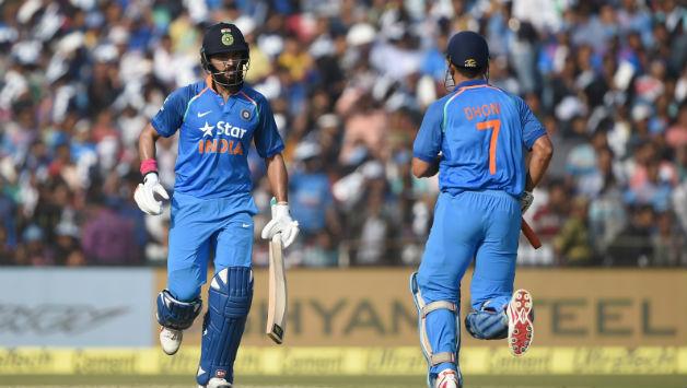 ms Dhoni and Yuvraj Singh | AFP