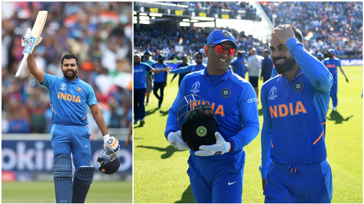 Rohit Sharma joins teammates Virat Kohli and MS Dhoni in an elite list of cricketers