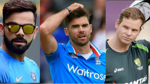 James Anderson picks between India's Virat Kohli and Australia's Steve Smith