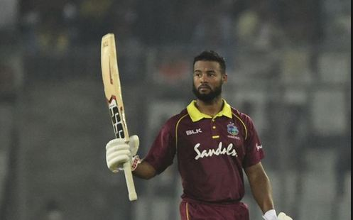 Shai Hope played an incredible knock of 146* runs against Bangladesh in the second ODI in Dhaka (photo - getty)