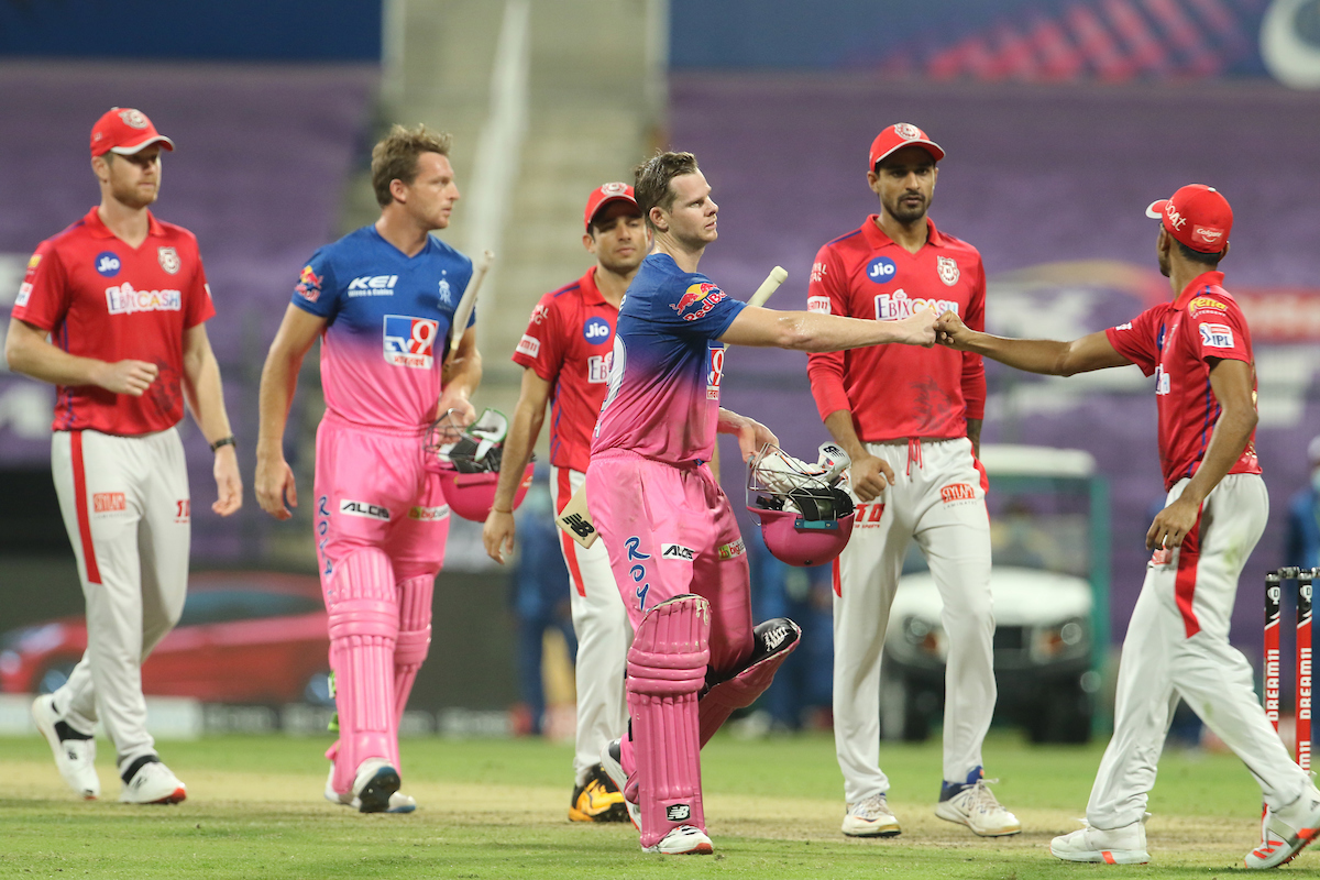 Smith and Buttler took Rajasthan Royals over the line | IPL/BCCI