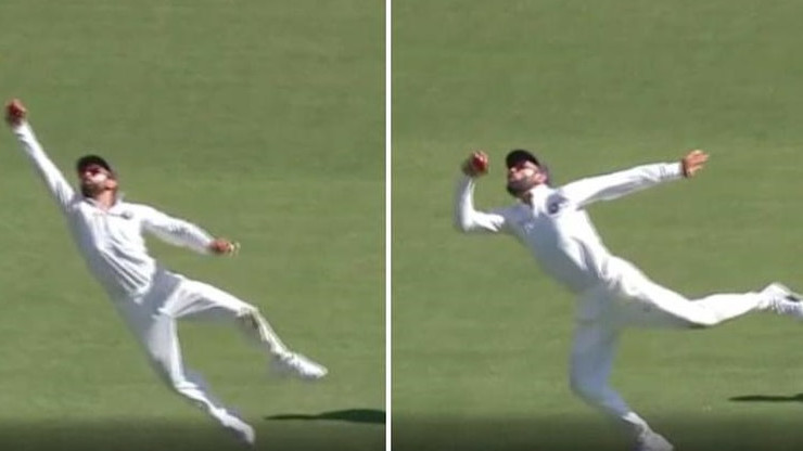AUS v IND 2018-19: Twitter in awe after Virat Kohli pulls off a stunning catch in second Test