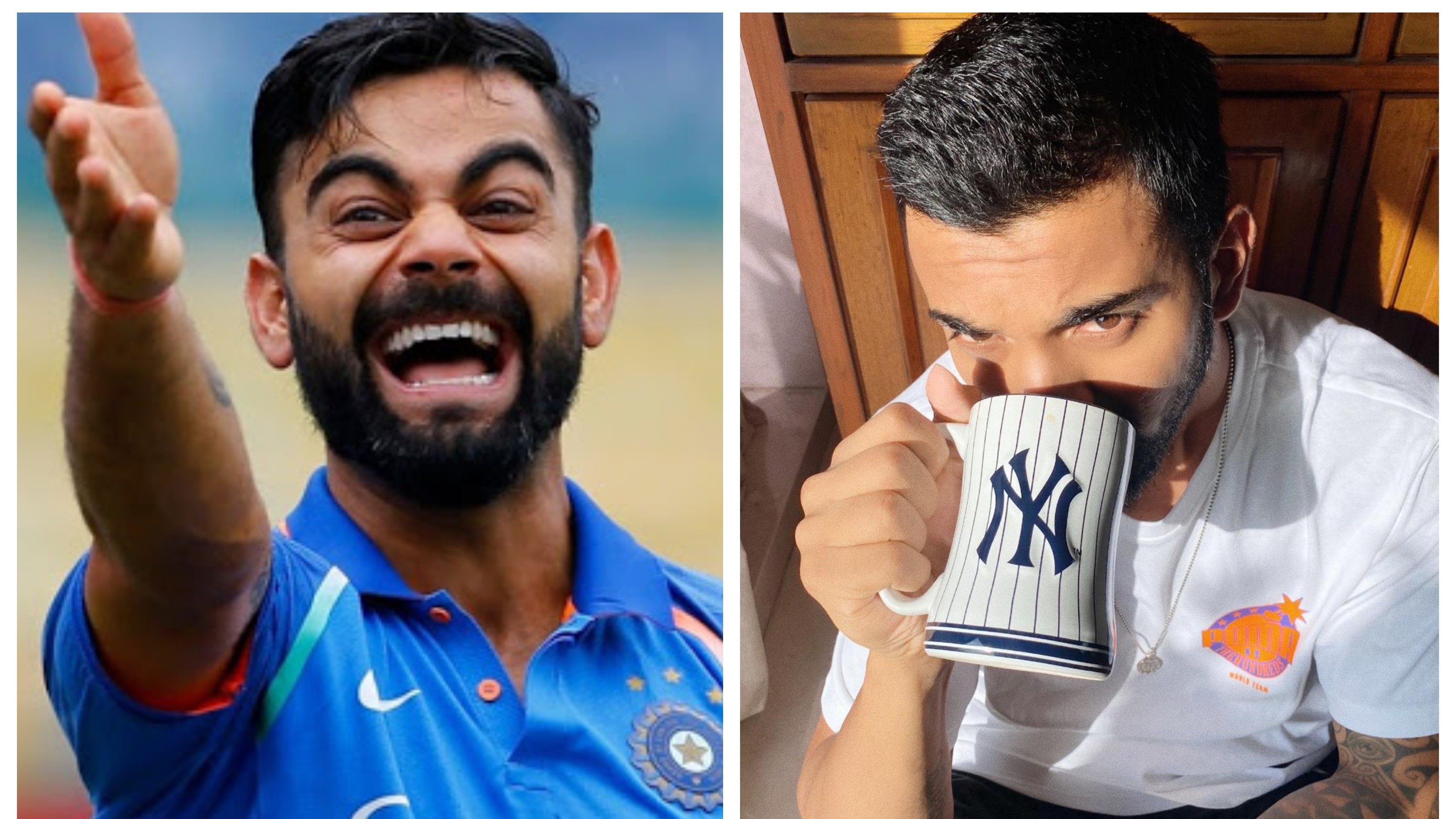 Virat Kohli teases KL Rahul after latter shares picture drinking coffee