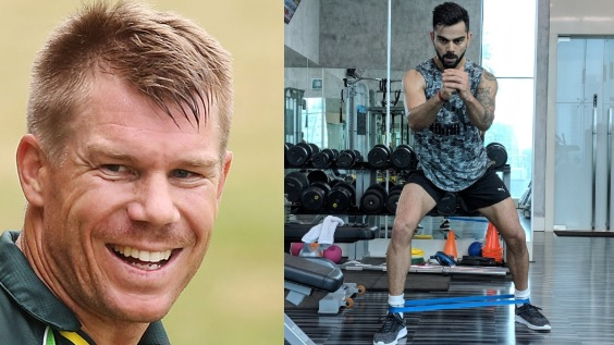 David Warner roasts Virat Kohli, comments