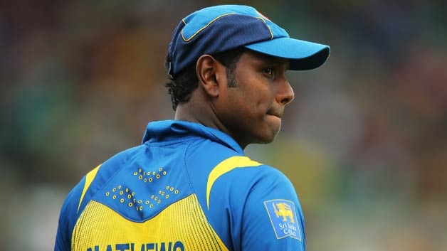 Calf injury  restricts Angelo Mathews from participating in the Nidahas trophy