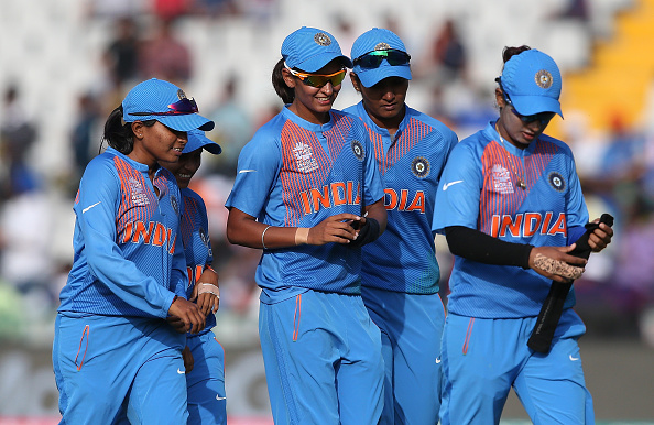 Indian Women's Team after a win   Getty Images