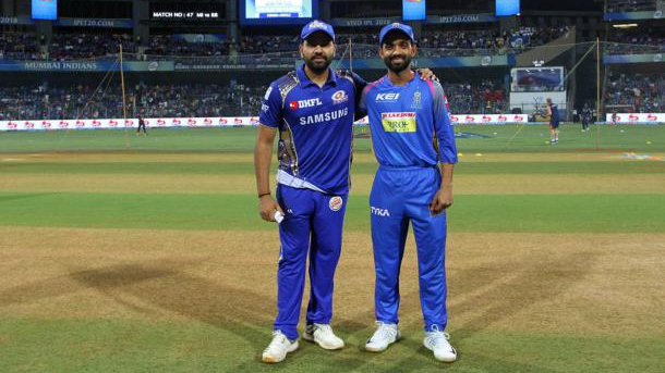 IPL 2018 : Match 47, MI vs RR - Statistical Highlights