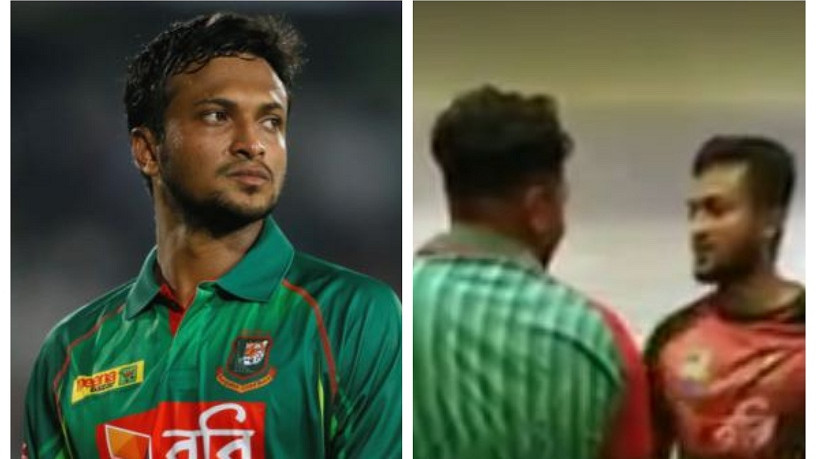 WATCH: Shakib Al Hasan has a tiff with a fan; clarifies himself