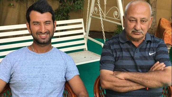 Cheteshwar Pujara talks about role of his father Arvind in shaping up his career