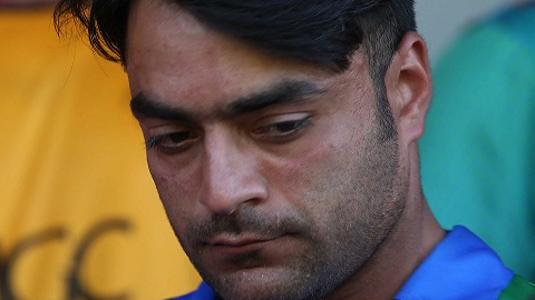 Rashid Khan and whole Afghanistan mourns terrorist attack on cricket field that leaves 8 dead