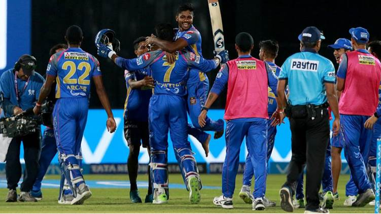 IPL 2018: Watch: Rajasthan Royals  players celebrate  after qualifying for the playoffs