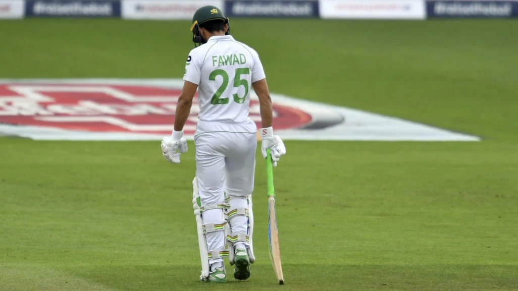 ENG v PAK 2020: Twitterati react Fawad Alam scores a duck on Test cricket return after a decade