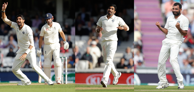 Indian pace attack did an outstanding job during the five-Test series in England this year