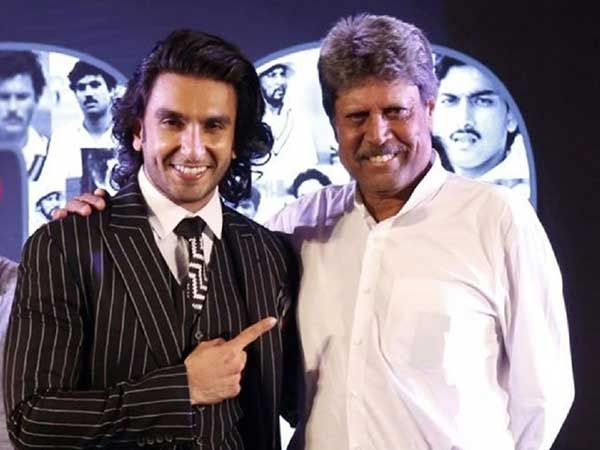 Ranveer to play Kapil's character in the biopic of India's first World Cup winning captain Kapil Dev | Filmfare