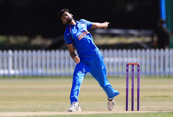 Khaleel Ahmed was the pick of Indian bowlers | Mike Egerton-PA Images-Getty
