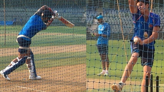 ENG v IND 2018: WATCH – Virat Kohli faces Arjun Tendulkar during a net session at Lord's