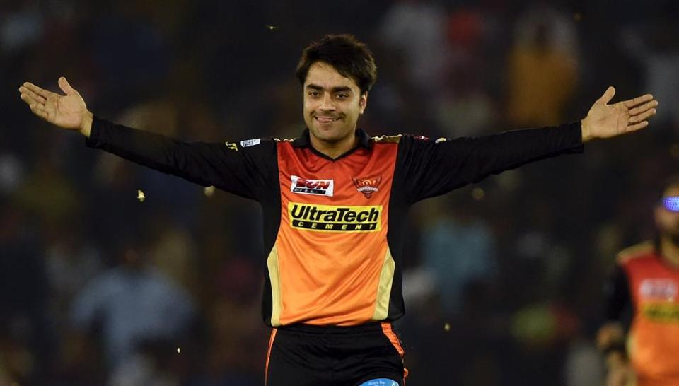 Rashid Khan was impressive for SRH in his first season of IPL in 2017