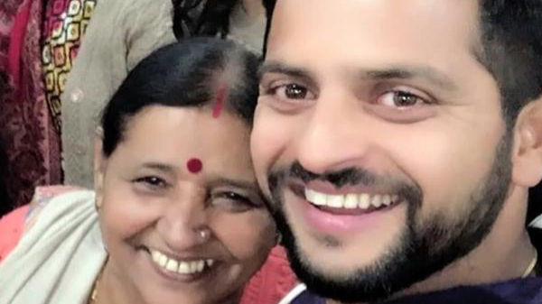 Suresh Raina's mother reveals his favorite food on a talk show on TV