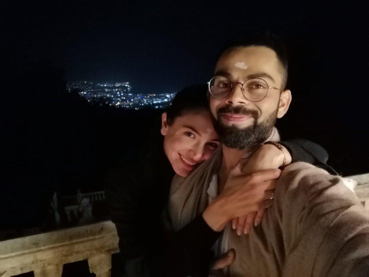 Virat Kohli and Anushka Sharma | Twitter