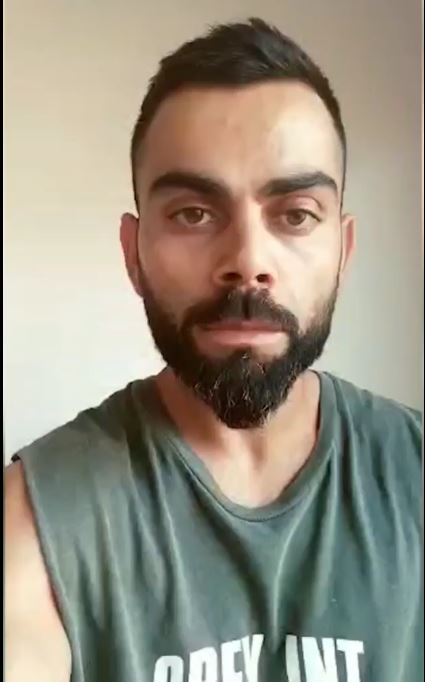 Virat asked the citizens to take responsibility and stay inside |Twitter