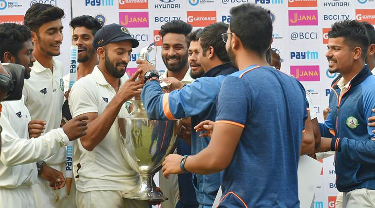 Vidarbha to receive 3 crore cash prize for maiden Ranji title