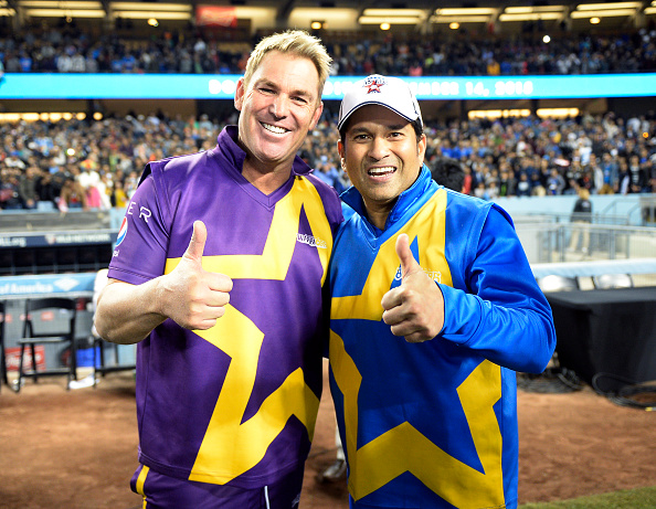 They were and they are friends off the field, but Tendulkar versus Warne was a fierce rivalry | Getty